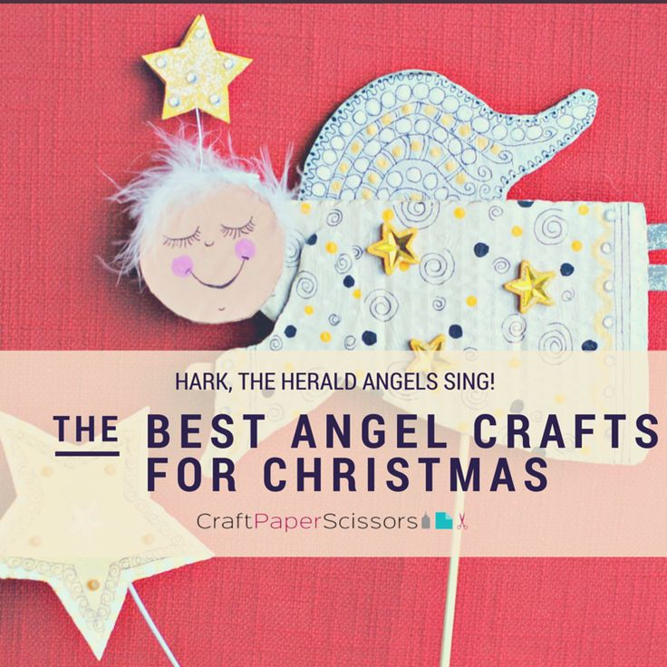 Christmas Crafts Paper Angels : Hark the herald angels sing best angel crafts for