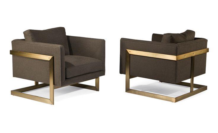 t-back lounge Milo Baughman chairs (Thayer Coggin)