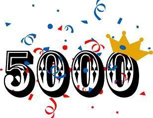 5000 na FB i Google + dla Maison de The. Dziękujemy.