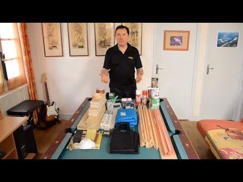 Rénovation d'une table de billard américain - How to re-build a home US pool table - 台球  #americain #billard #build