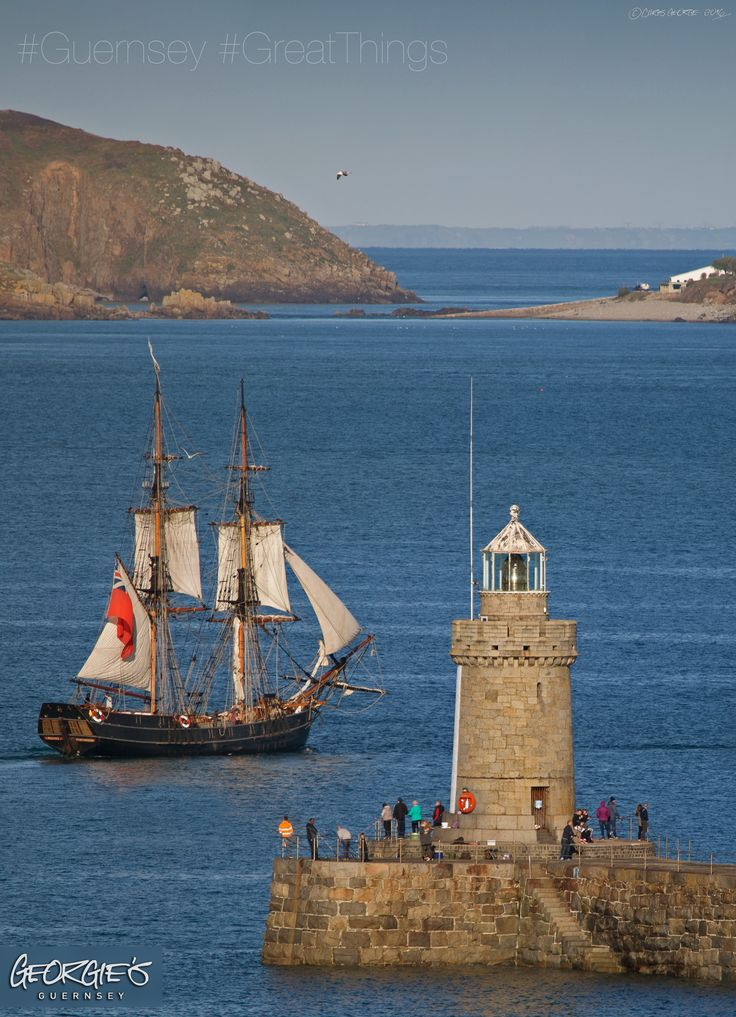 Farewell to the Tall Ship Phoenix as it sailed off through the St Peter Port pier heads this afternoon. ‪#‎Guernsey‬ ‪#‎GreatThings‬ Link to the whole collection of 'Georgie's Guernsey' :-http://chrisgeorge.dphoto.com/#/album/4daaes Picture Ref: 17_04_16