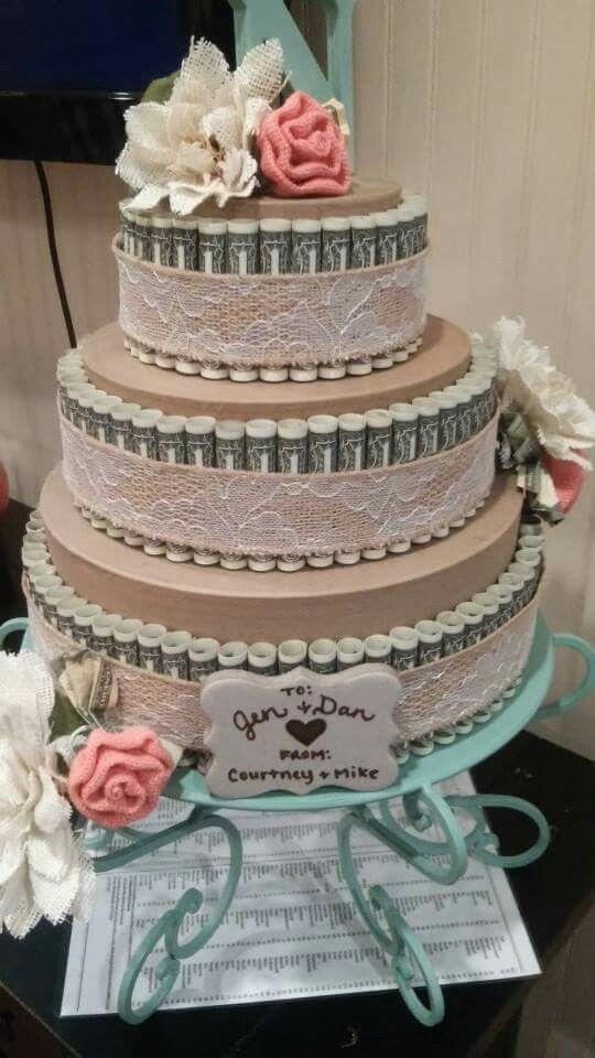 Wedding money cake – #cake #lei #Money #wedding