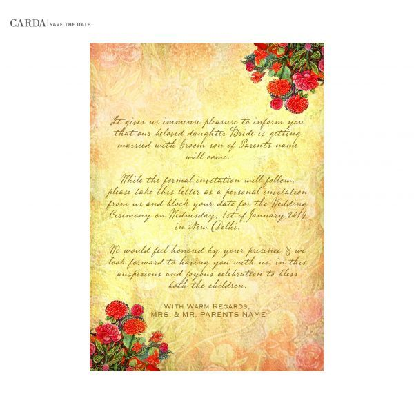 CARDA welcomes you to the astounding and alluring world of online stationery and e-invites for wedding, e-invites for birthday, e-invites for engagement, e-invites for dinner.