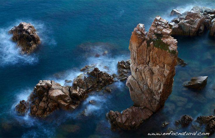 Costa Brava por joan bobet - Foto 47771898 - 500px. Blanes, desde el jardin botanico mar y murtra.