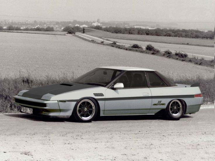 1986 Subaru XT Turbo --- my first car!!