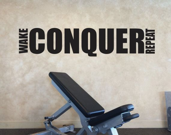 203 Best Images About Motivational Gym Wall Decals On