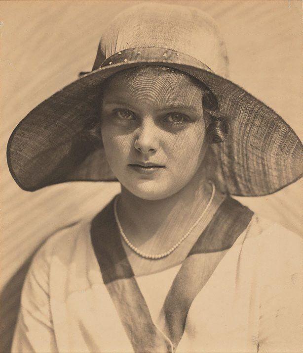Sun portrait (Lesley Sugden), Harold Cazneaux, 1931