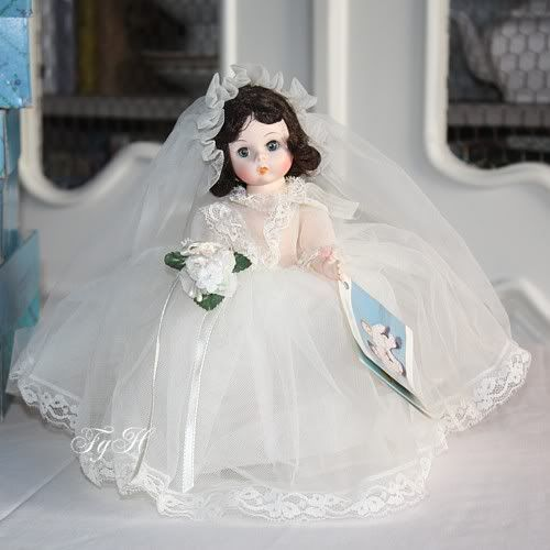 Madame Alexander Dolls bride -