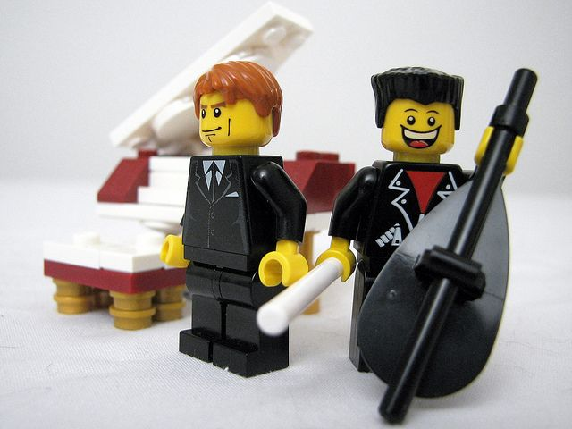 The Piano Guys, lego version!