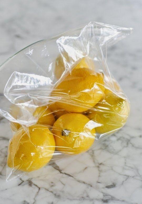 Κρατήσετε τα λεμόνια φρέσκα