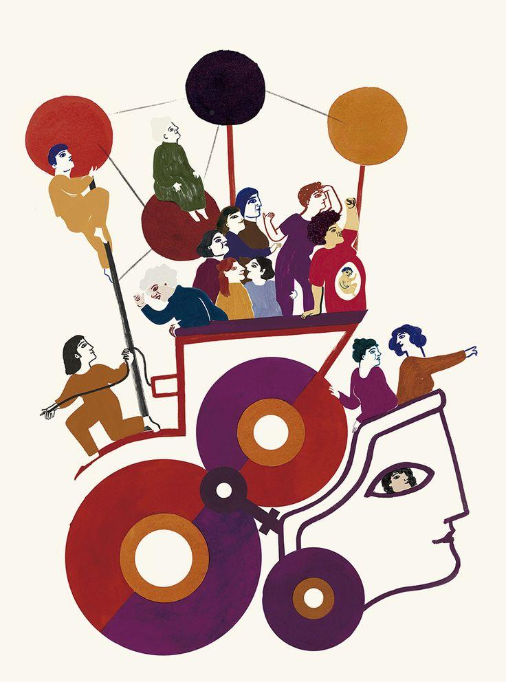 Campaña gráfica para El Dia Internacional de les Dones 2016. Ajuntament de Barcelona