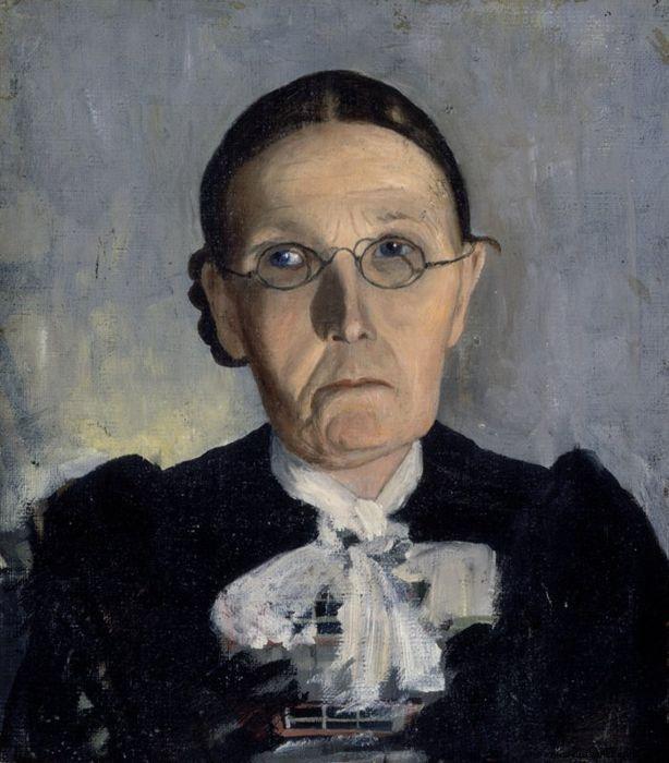 Old Woman (Hugo Simberg - )