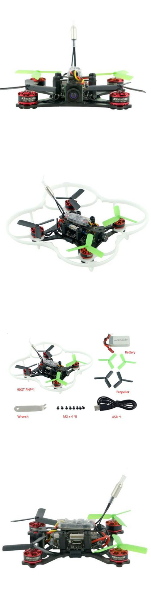 Quadcopters and Multicopters 182185: 90Gt Racing Rc Drone + Dsm2 Receiver Micro Flight 1103 Brushless Moto -> BUY IT NOW ONLY: $79.91 on eBay!