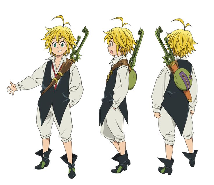 seven deadly sins anime characters - Google Search
