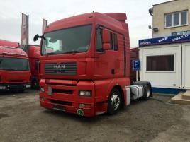 nákladní MAN TGA 18.400 , LD manuál tahač nafta Praha 9 - Horní Počernice,červená metalíza
