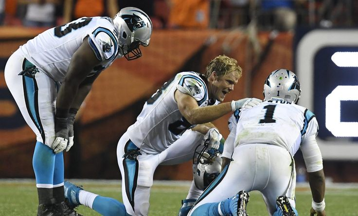 Panthers quarterback Cam Newton took four helmet-to-helmet hits and never was…