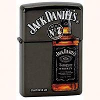 Zapalniczka Zippo Jack Daniels, Black Matte