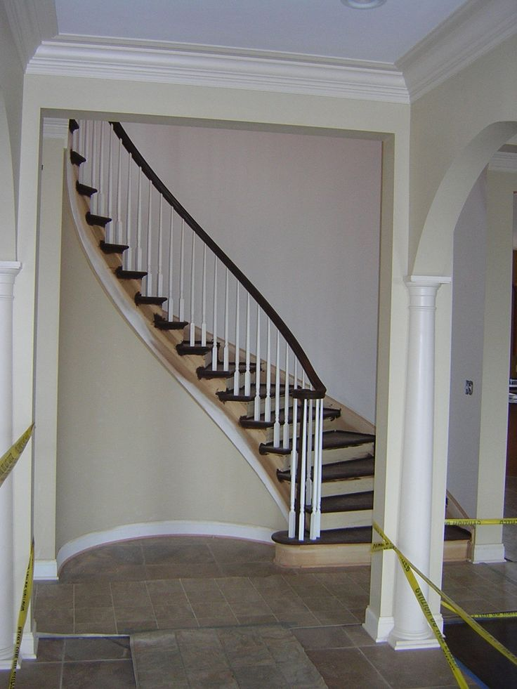 Best Stairways Flooring Designs Curved Stair With Traditional 400 x 300