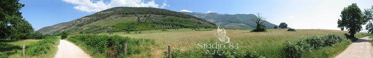 Sezze Romano - Panorama dalla Longara