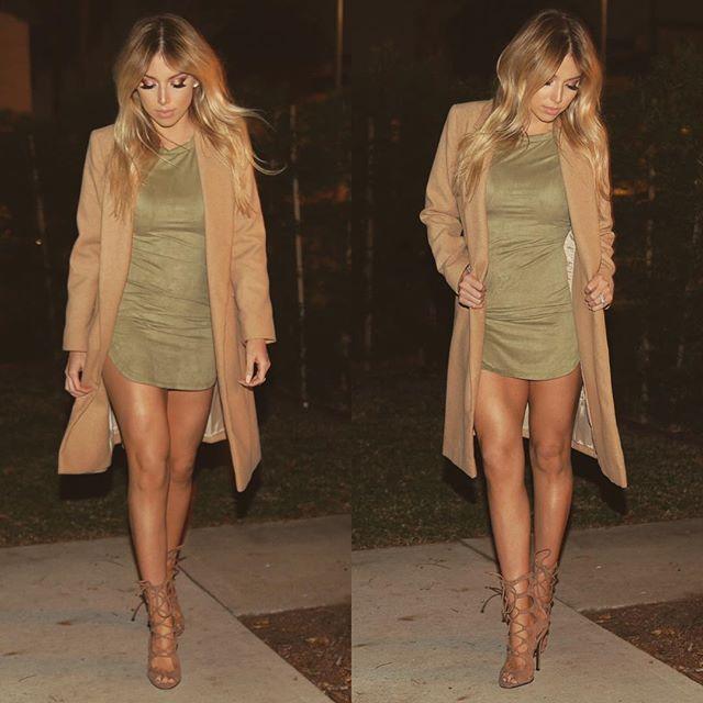 LUSTRELUX    Dress - Windsor   Coat - Topshop   Heels - Lola Shoetique