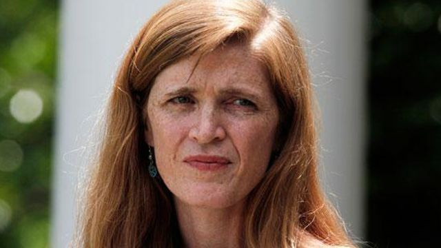 Found: Samantha Power in Ireland during urgent Syria meeting, sources say Perhaps this was divine intervention and a warning to the U.S. to stay out of Syria's civil war.