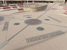 Four Corners Monument  Arizona, Colorado, New Mexico, and  Utah