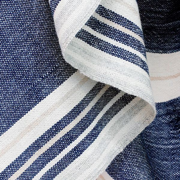 Handwoven in Peru by The weavers of Huancavelica How could we pass up the chance to re-imagine the traditional South American frasadas? This oversized, everyday blanket with thick bands of richly satu