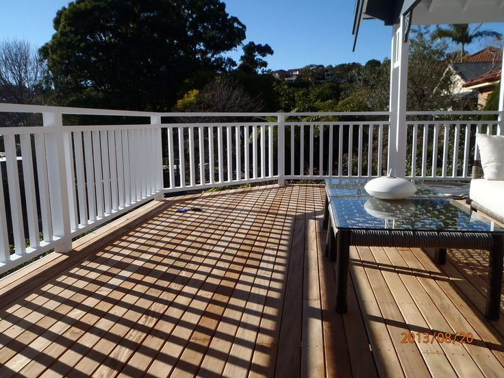 Image result for hampton style wooden balustrading outdoor deck