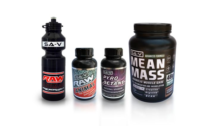 Our New Gym Range for more information go to www.savitamins.co.za