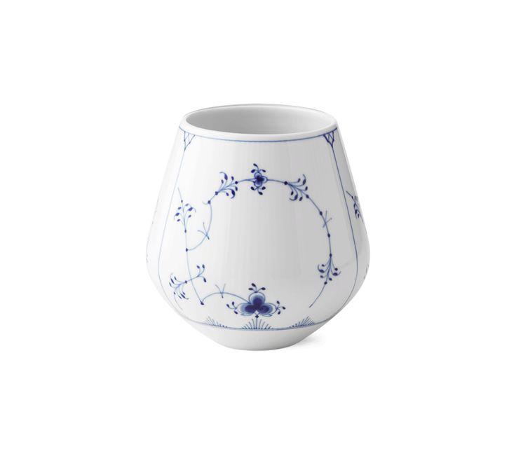 Musselmalet Riflet Vase, medium