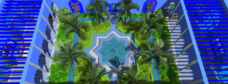 8 best Moroccan/Arabic Landscape Architectural and Garden Design ...