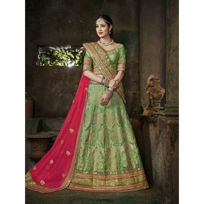 Exquisite Bridal Lehenga Choli - 20
