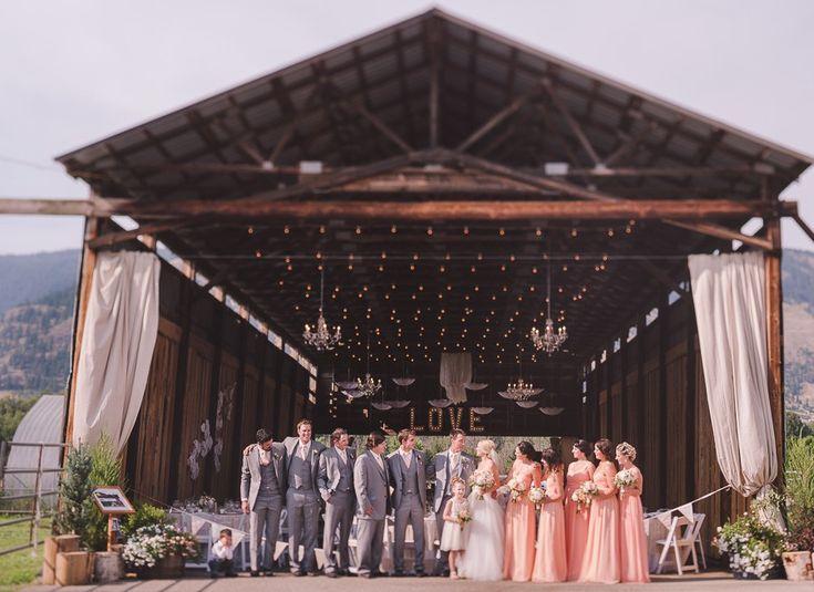 Silver Sage Stables Barn Wedding Coldstream