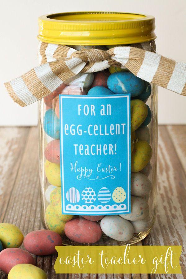 Cute Easter Teacher Gift { lilluna.com }