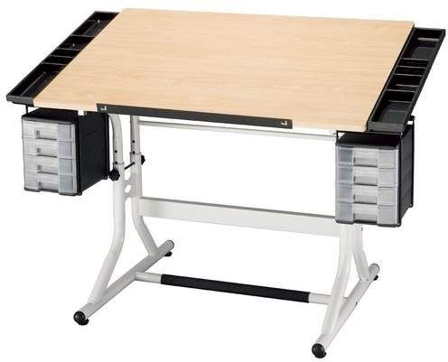 Alvin And Co Craftmaster Ii Drafting Table Living Room Tv Modern Roomodern