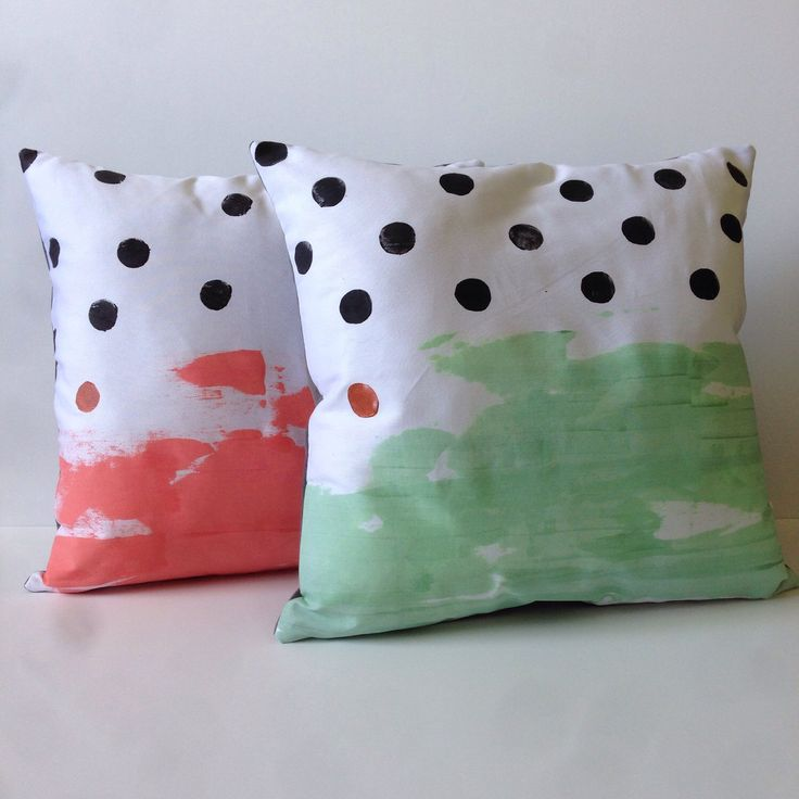 A personal favourite from my Etsy shop https://www.etsy.com/au/listing/267324285/handpainted-abstract-cushion-in-pink-or