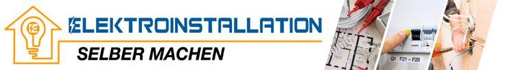 Elektroinstallation selber machen, Logo, Ratgeber