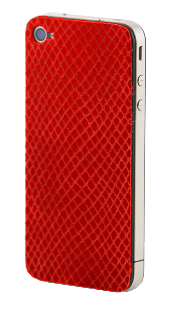 Red Lizard iPhone skin by dbramante 1928, see more of our product range at http://www.dbramante1928.com