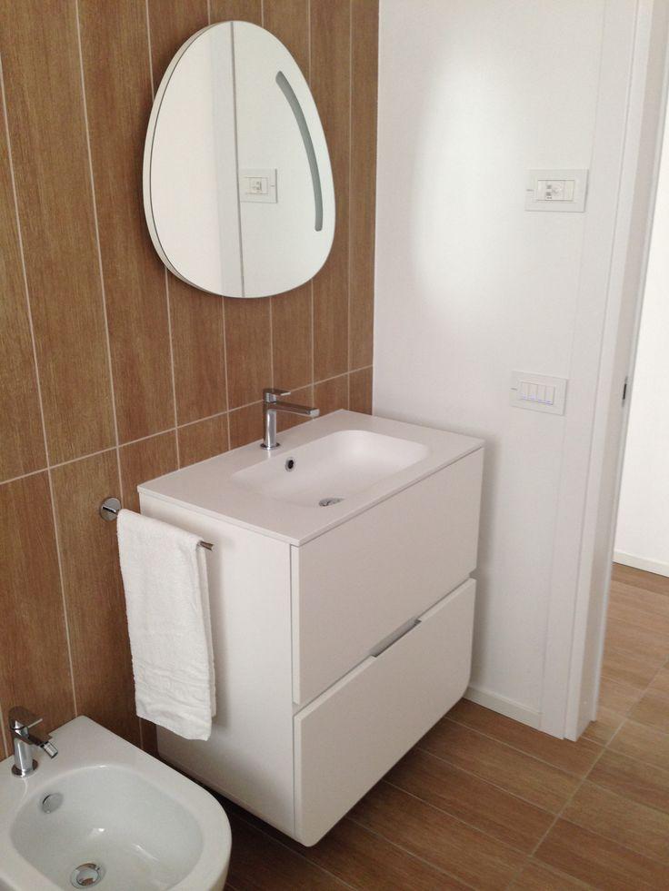badezimmer im hotel marina verde in caorle gessi via manzoni mit corian waschtischen - Corian Dusche Osterreich