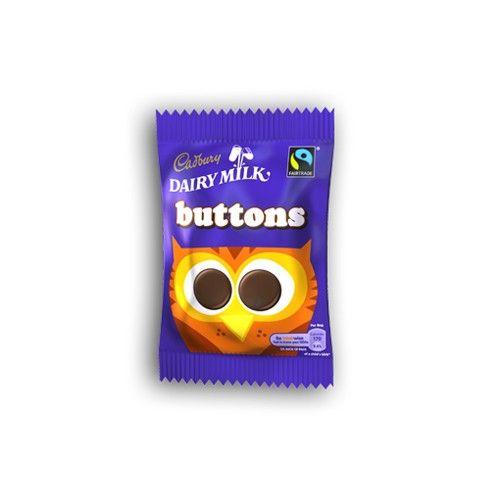 Cadbury Chocolate Buttons (28g / 1oz)
