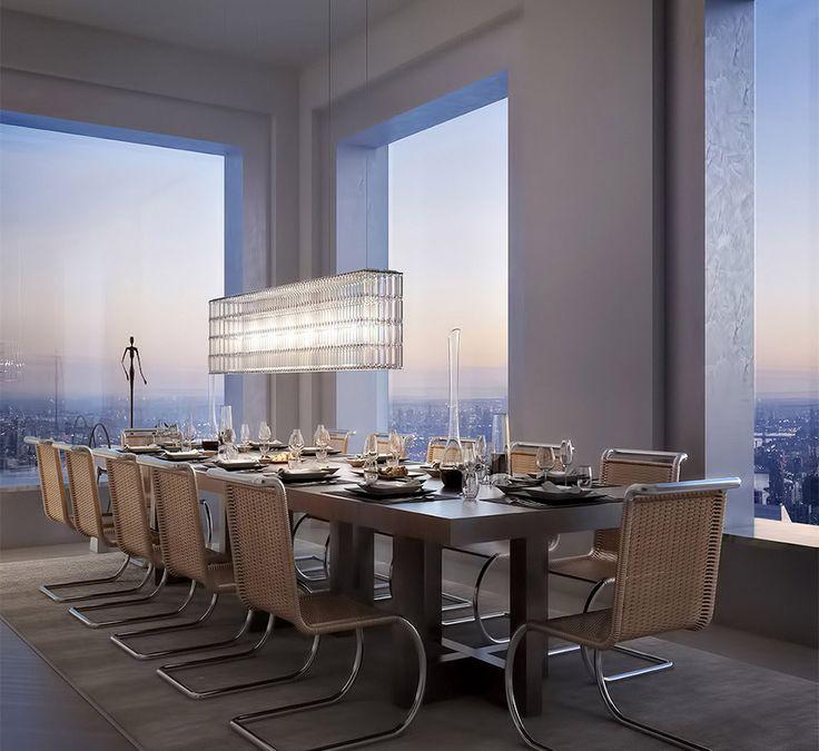 aperçu dun penthouse à 95 millions de dollars   432 park avenue manhattan penthouse a 95 millions de dollars luxe 9
