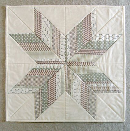 Striped Star: Quilts Patterns, Stars Quilts, Crafts Patterns, Sewing Crafts, Minis Quilts, Quilts Blocks, Purl Soho, Stripes Stars, Purl Bees