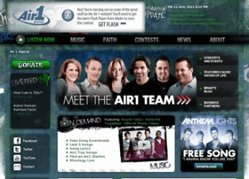 http://www.air1.com/ Air 1 radio station w/great positive & uplifting music to listen to anywhere. This is what music is supposed to be. :)