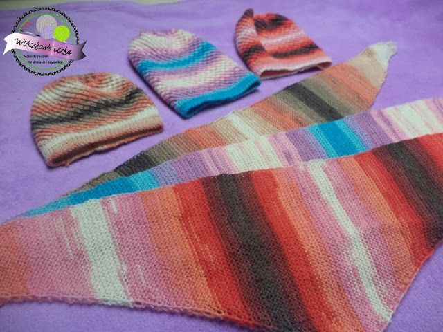 knitting bactuses and hats  baktusy i czapki na drutach