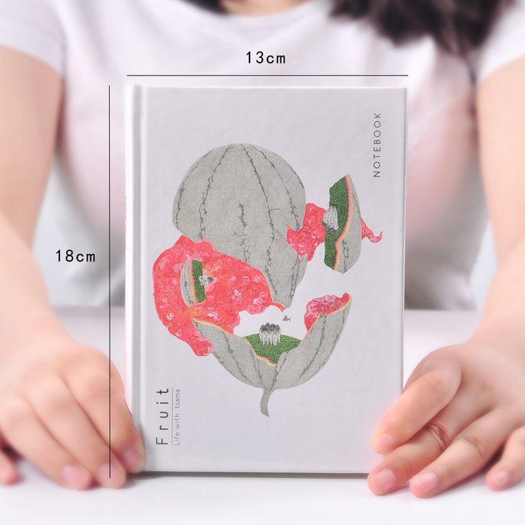 MOREUSEE Fruta Serie Página Original Del Cuaderno de Tapa Dura Cuaderno de Bocetos En Blanco A5 Bloc de Notas 1 UNIDS en Cuadernos de Office & School Supplies en AliExpress.com | Alibaba Group