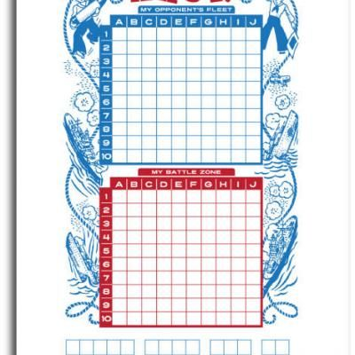 Printable Battleship! MG is going to be SO STOKED! Was just talking about making her own board.