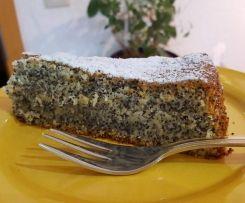 Mohn-Marzipan-Kuchen