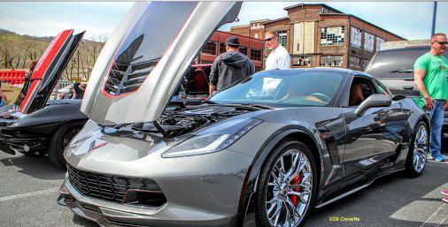 Chevrolet ZO6 Corvette. I'm flying down my Dream Highway in style ?