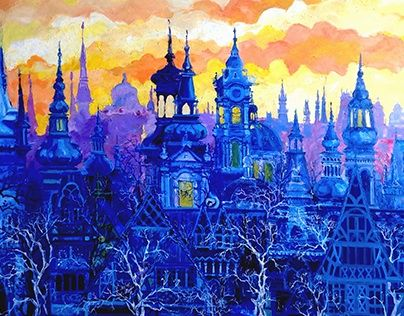 """Check out new work on my @Behance portfolio: """"sunset in Prague"""" http://be.net/gallery/48217857/sunset-in-Prague"""