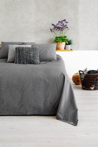 Sängöverkast ALVIK 160x220 grå | JYSK